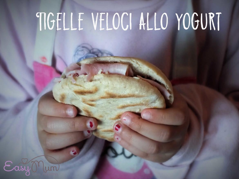 tigelle allo yogurt