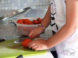 sugo con pomodorini freschi
