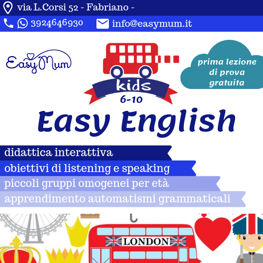 easy english kids con prova gratuita