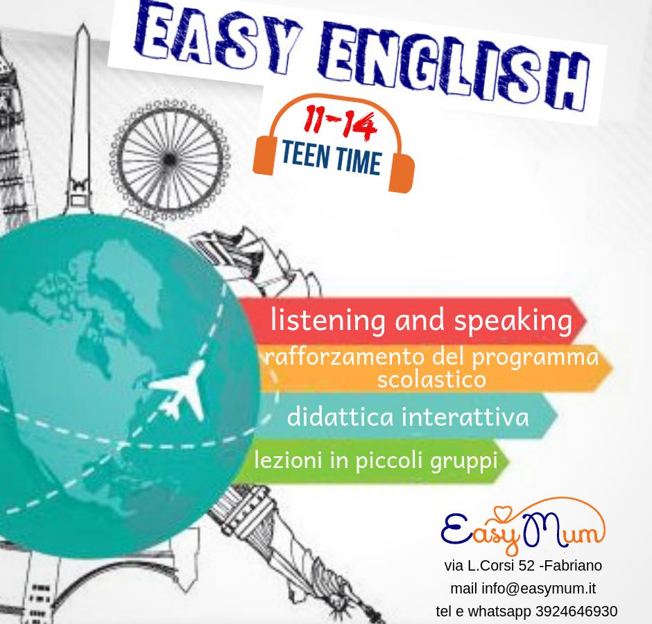 easy english teen 11-14